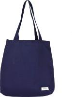 frenzo Reusable Tote cum Handbag Bag-Multipurpose Bag (100% Cotton Canvas)-Jhola Multipurpose Bag(Blue, 15 L)