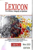 THE LEXICON FOR ETHICS,INTEGRITY & APTITUDE BY NIRAJ KUMAR NEW EDITION (Catering To Evolving Trends In GS Paper-IV)Best For CIVIL Services,universities And Other Examination (Best Book For IAS,IPS,IFS,UPSC,PSC,Civil Services,UGC-Net And All Indian Govt Exam)(Paperback, CHRONICLE,lexicon Ethics)(Pape