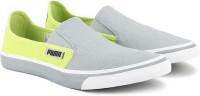 Puma Apollo Slip On IDP Slip On Sneakers For Men(Grey, Green)