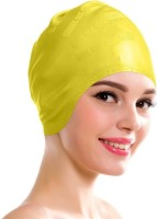 Aurion Swimming Kit with Ear Protection Swimming Cap(Yellow, Pack of 1)