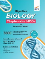 Objective Biology Chapter-Wise MCQS for Nta Neet/ Aiims(English, Paperback, Disha Experts)