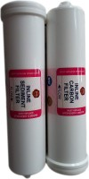 KENT Plastic Sediment And Carbon Filter 154 Solid Filter Cartridge(0.5, Pack of 2)