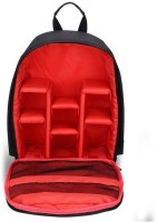 MIRROR Camera Backpack Waterproof Fabric,SLR Camera, Lens, Camera Accessories Bag  (Red)  Camera Bag(Red)