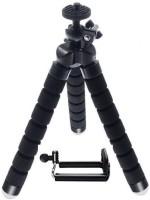 Poblic New Mobile Tripod Camera Holder Universal Soft Sponge Flexible Adjustable Leg Portable Mini Stand with Universal Mobile Attachment Tripod(Multicolor, Supports Up to 500 g)