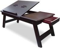 Ebee Wood Portable Laptop Table(Finish Color - Brown)