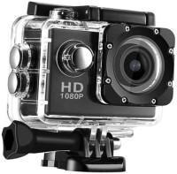 LIZZIE Sports HD Action Camera Video Camera with Waterproof Camera Case Sports and Action Camera(Black, 16 MP)