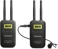 Saramonic VmicLink5 5.8 GHz SHF Wireless Lavalier System and Receiver (5725 to 5875 MHz) - ( For DSLR, Camcorders, Recorders & Mixers )- Camera Microphone