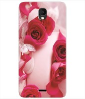 Inktree Back Cover for Micromax Q4002 (Bharat 4 Diwali Edition)(Multicolor, Silicon)