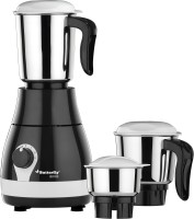 Butterfly Arrow 500 W Mixer Grinder(Grey, 3 Jars)