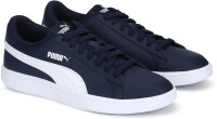 Puma Smash v2 L Peacoat Sneakers For Men(Blue)