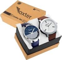 Foxter 434-430 New Best Artist Designer Combo Watch For men & women Combo of 2 Analog Watch  - For Men