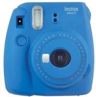 FUJIFILM Instax Mini 9 FunCam with film (Cobalt Blue) Instant Camera(Blue)
