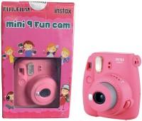 FUJIFILM Mini 9 FunCam with film ( Flamingo Pink ) Instant Camera(Pink)
