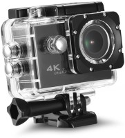 Lizzie 4k Action camera Sports and Action Camera 4K Ultra HD 16 MP WiFi Waterproof Digital Sports and Action Camera(Black, 16 MP)