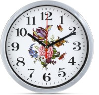 ADONAI Analog 3 cm X 20 cm Wall Clock(White, With Glass)