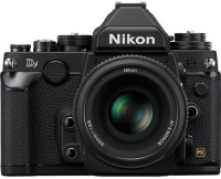 Nikon D DF Mirrorless Camera Body with Single Lens: AF-S50mm (16 GB Memory Card & Carry Case)(Black)