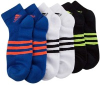ADIDAS Men & Women Printed Ankle Length(Pack of 3)