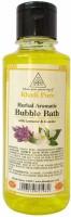 Khadi Pure Herbal Bubble bath oil with lavender & jasmine 210ml(210 ml)