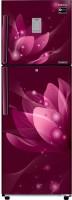 View Samsung 253 L Frost Free Double Door 3 Star Refrigerator(Saffron Red, RT28N3923R8/HL)  Price Online