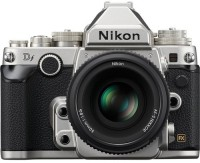 Nikon NA f Mirrorless Camera Body with Single Lens: AF-S50mm (16 GB Memory Card & Carry Case)(Silver)