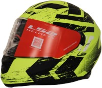 LS2 Hunter Black Yellow Dull Visor Full Face Helmet Motorbike Helmet(Black, Yellow)