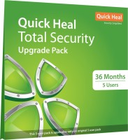 QUICK HEAL Total Security 2 User 3 Years (Renewal)(CD/DVD)