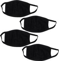 SKC Black Bike Face Mask for Men & Women(Size: Free,  Balaclava)