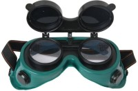 veevo welding goggle flip type black lens with nose mask flip type standard Welding  Safety Goggle(Free-size)