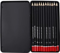 Kurtzy Graphite B 2B 3B 4B 5B 6B 7B 8B HB H 2H F Pencil(Pack of 12)