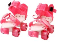 PS AAKRITI Skates Shoes For Kids / Childrens - UNISEX In-line Skates - Size 12-16 UK (Multicolor) Quad Roller Skates - Size 4-7 UK In-line Skates - Size 5-7 UK(Red, Pink)