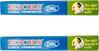 Hicks Oval Clinical Thermometer (Pack of 2) Thermometer(Multicolor)