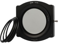 NiSi V5 Pro 100mm Filter Holder Kit- ( Includes 6X Slots, 82 mm Adapter Ring) 86 mm Polarizing Filter (CPL)(86 mm)
