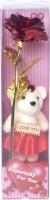 DI-KRAFT Artificial Flower, Soft Toy Gift Set