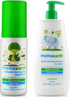 Mamaearth Natural Insect Repellent for babies (100 ml) änd Gentle Cleansing Shampoo for babies (400 ml, 0-5 Yrs)(Multicolor)
