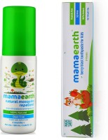 Mamaearth Natural Insect Repellent for babies (100 ml) änd 100 Percent Natural Berry Blast Kids Toothpaste, 50g(Multicolor)