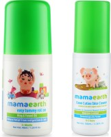 Mamaearth Easy baby Tummy Roll On for Digestion & Colic Relief with Hing & Fennel 40Ml änd baby Skin Cleanser 100 Ml (for Cleaning Pen, Marker, Make Up and Crayon Marks)(Multicolor)