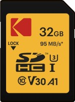 Kodak High Speed SDHC 32 GB SD Card Class 10 95 MB/s  Memory Card