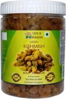 Veg E Wagon Green Kishmish (Raisins) Premium 500 gm in Pet Jar Raisins(500 g)