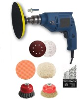 Tools Centre Polisher, Drill and Sander Machine (10 mm) Vehicle Polisher(5 inch)