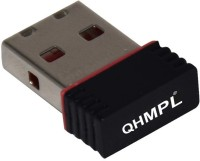 QHMPL WiFI Dongle Receiver USB Adapter(Black)