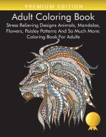 Adult Coloring Book(English, Paperback, Coloring Books for Adults Relaxation)