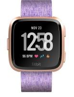 FITBIT Versa Smartwatch(Purple Strap, Regular)