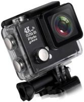 AMJ 1080 Cam Waterproof Sport Camera Diving Ultra HD Sports and Action Camera(Black, 16 MP)