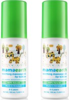 Mamaearth Soothing Massage Oil for Babies (100 ml, 0-5 Yrs)( Pack of 2)(Multicolor)