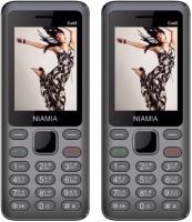 Niamia CAD 2 Combo of Two Mobiles(Grey)