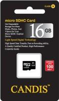 CANDIS MICRO SDHC 16 GB MicroSD Card Class 10 100 MB/s  Memory Card
