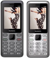 Niamia CAD 2 Combo of Two Mobiles(Grey&Silver)
