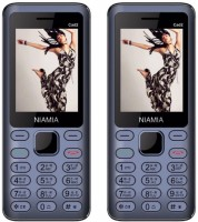 Niamia CAD 2 Combo Of Two Mobiles(Blue)