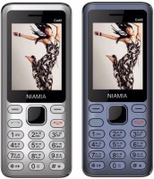 Niamia CAD 2 Combo of Two Mobiles(Silver&Blue)