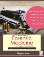 Forensic Medicine Nothing beyond for PGMEE (New SARP Series for NEET/NBE/AI)(english, Paperback, J Magendran)